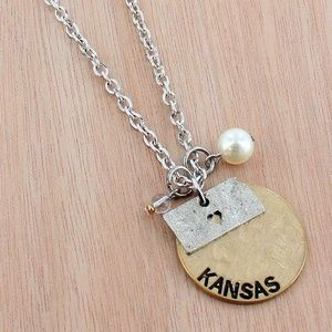 Kansas Necklace With Charms